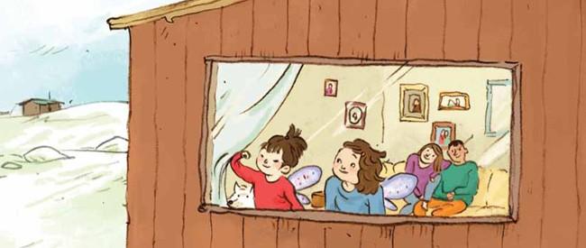 ᓈᓚᐅᑉ ᒥᑦᓯᐊᖓ ᑲᒪᓇᖅᑐᖅ: ᐅᓂᒃᑳᖅ ᐃᓄᐃᑦ ᑎᒍᐊᕈᓯᖓᑕ ᒥᒃᓵᓄᑦ Nala's Magical Mitsiaq: A Story of Inuit Adoption (Inuktitut)