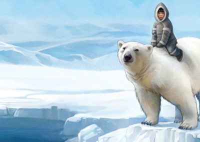 The Orphan and the Polar Bear (French)