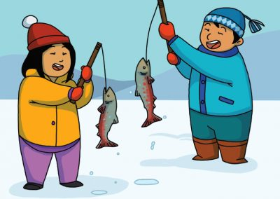 Out on the Ice (Inuktitut)