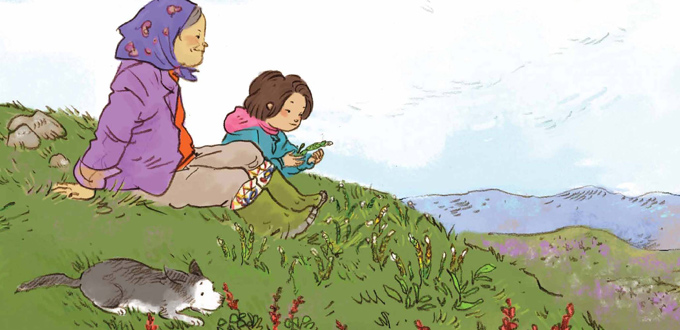A Walk on the Tundra Junior Book Study (Kivalliq Inuktitut)