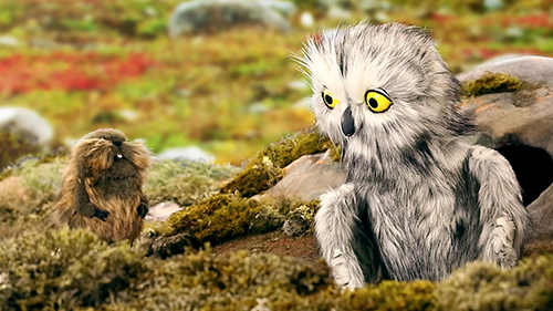 The Owl and the Lemming: Winner of the Nunavut Children's Film Festival 2018