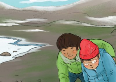 A Walk on the Shoreline (Inuktitut)