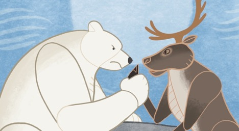 The Polar Bear and Caribou Film (Inuktitut)
