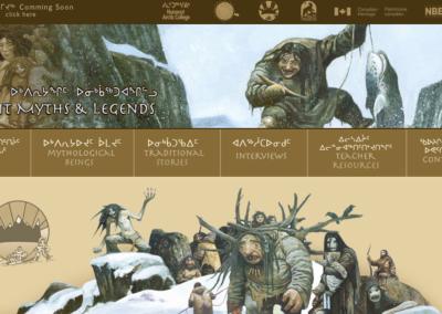 Inuit Myths Website