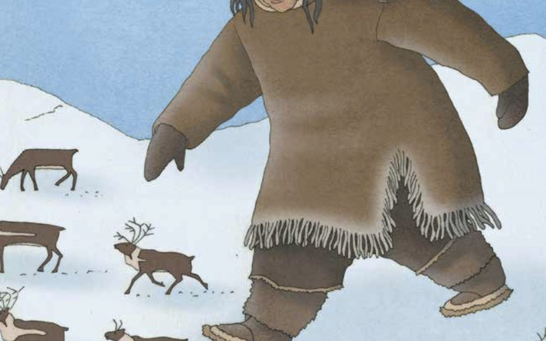ᐃᓄᒃᐸᒃ ᐃᕐᓂᖓᓗ Inukpak and His Son  (Inuktitut)