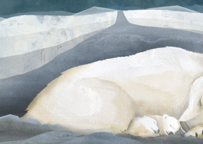 ᓂᕐᔪᑏᑦ ᑎᑎᕋᐅᔭᖅᓯᒪᔪᑦ: ᓇᓄᖅ Animals Illustrated: Polar Bear