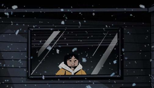 ᐃᖅᓯᓇᖅᑐᓕᒃ  ᐱᖅᑐᖅ The Haunted Blizzard