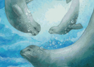 Uumajut: Learn About Arctic Wildlife! Volume 1 (French/Inuktitut)